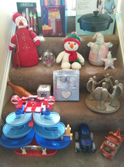 Garage sale Brand New and used. Toys,  Christmas items,  household.